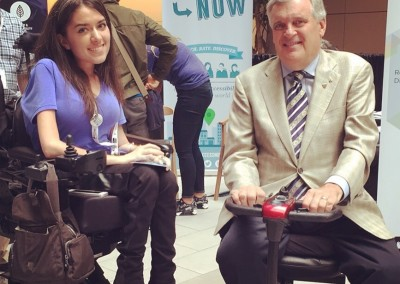 Maayan and David Onley