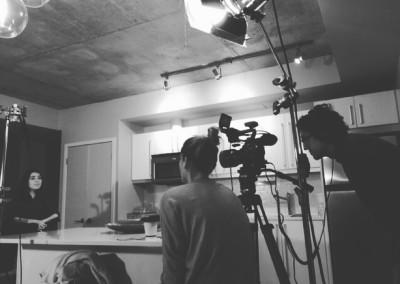 cameras behind the scenes