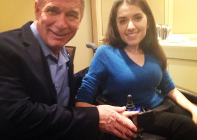 Maayan and Rick Hansen