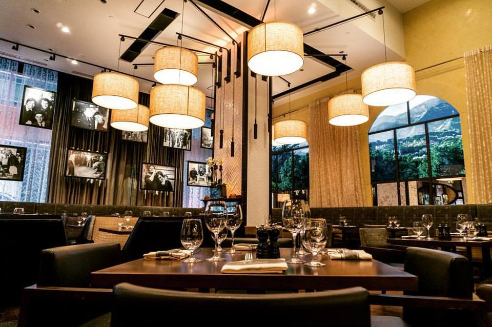 montecito main dinning room area interior