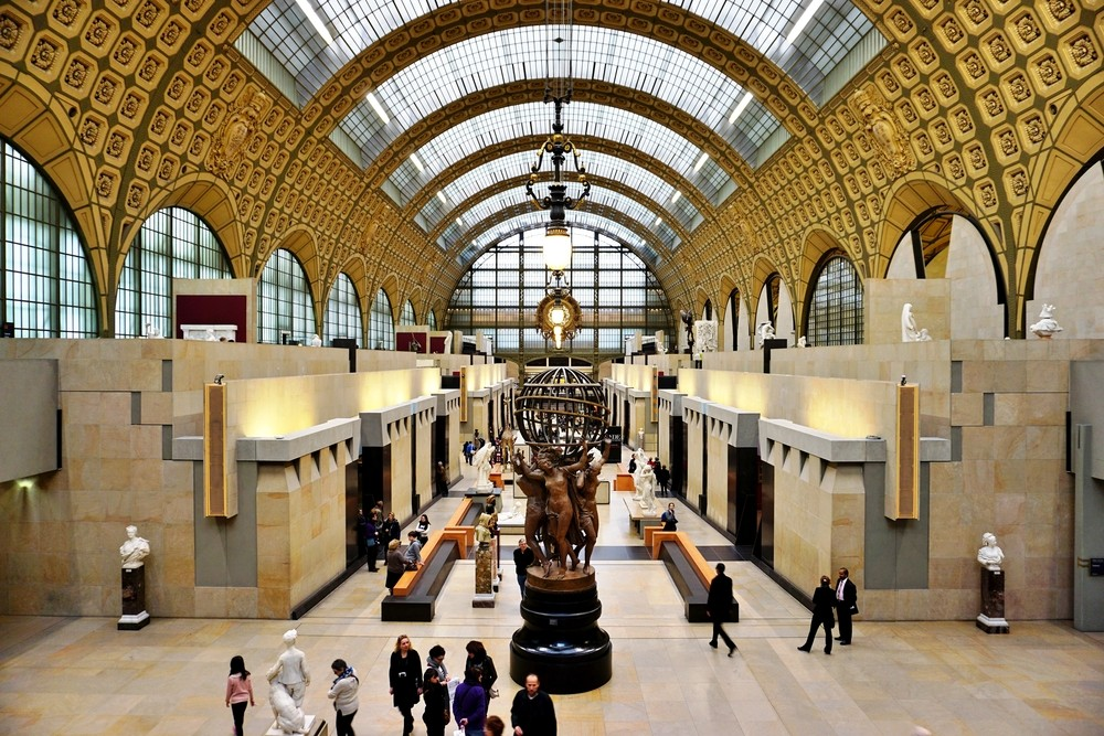 interior image of d'Orsay museum