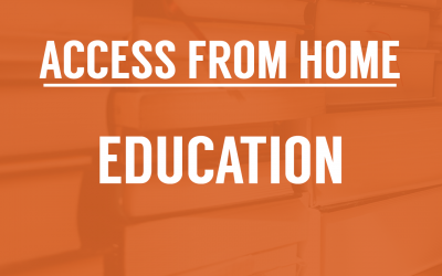 Access From Home: Education