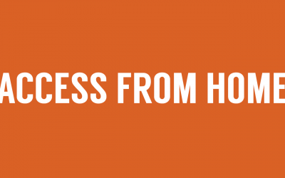 Introducing: Access From Home