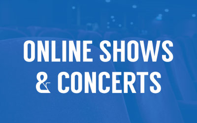 8 Shows & Concerts You Can Watch From Home