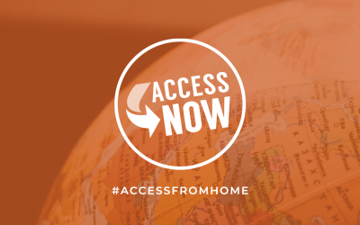 AccessNow Responds to COVID-19 with Access From Home Initiative