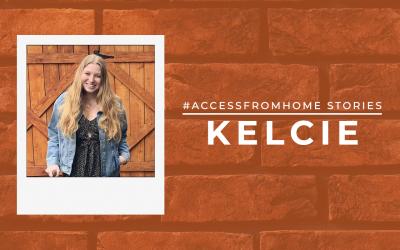 #AccessFromHome Stories: Kelcie Miller-Anderson