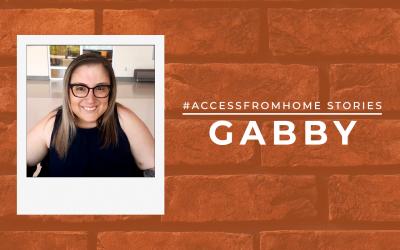 #AccessFromHome Stories: Gabriella Carafa