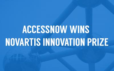 Canadian company AccessNow wins Novartis Innovation Prize for Assistive Tech