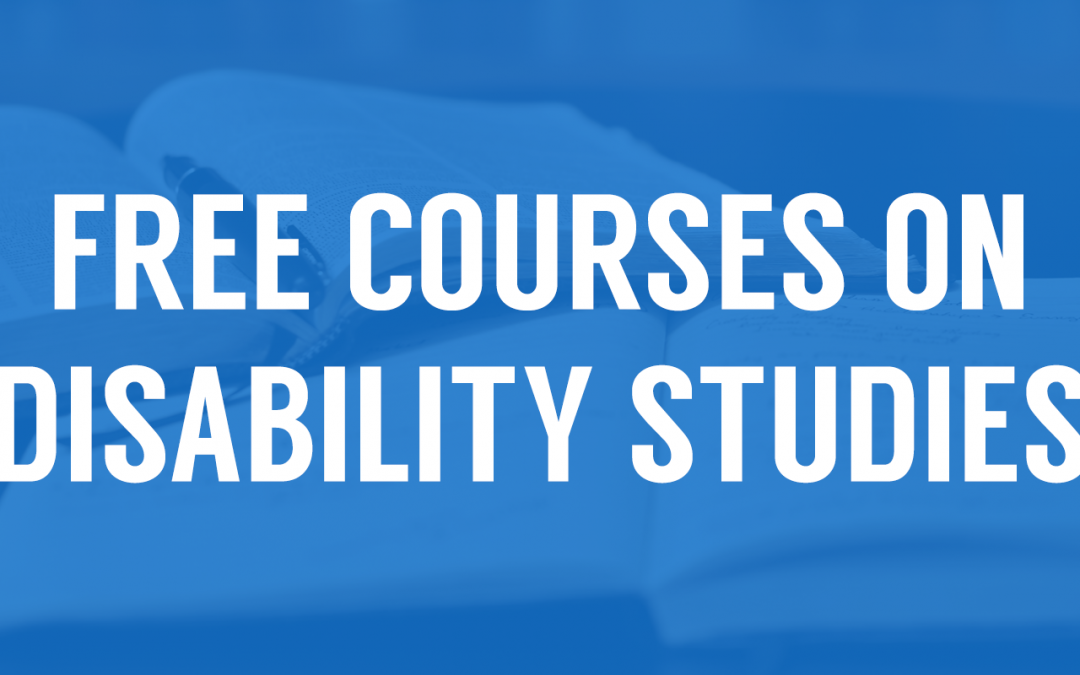 Free Online Courses on Disability Studies