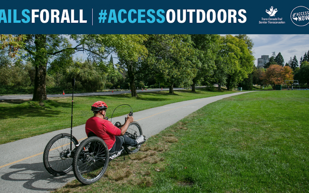 New national partnership focuses on improving accessibility on The Great Trail of Canada
